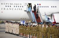 """أولاند في الكيان الإسرائيلي و""""إيران"""" على رأس المباحثات"""