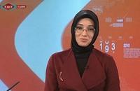 أول مذيعة محجبة في التلفزيون الرسمي التركي