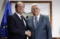 """أولاند في رام الله لبحث """"مفاوضات السلام"""""""