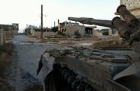 """الجيش السوري يقصف """"القلمون"""" بشدة استعدادا لاجتياحها"""