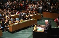 فلسطين تصوّت للمرة الاولى في الامم المتحدة