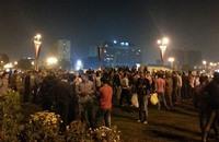"""هتافات ضد """"الداخلية"""" والجيش في ميدان التحرير"""