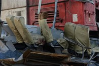 بالصور: مصرع 26 في حادث قطار بالقاهرة
