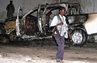 مقتل 15 في تفجير أمام مركز شرطة  بالصومال