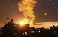 غارات جوية إسرائيلية على جنوب قطاع غزة