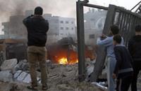 """استشهاد أحد عناصر القسام في انفجار """"داخلي"""" بغزة"""