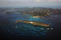 تشكل جزيرة جديدة في بحر اليابان