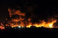 """""""صقور الأحواز"""" تتبنى عملية تفجير منشأة معشور النفطية (فيديو)"""
