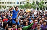 احتجاجات واسعة في جامعات مصر.. والأمن يلجأ للقوة