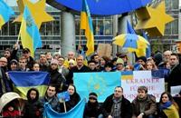 مواجهات بين متظاهرين والشرطة في أوكرانيا