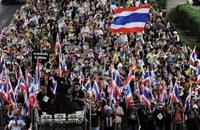 تايلاند: المحتجون يواصلون مسيراتهم بعد هجوم السبت