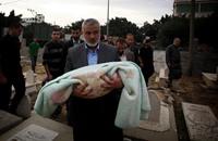 وفاة حفيدة رئيس الحكومة في غزة إسماعيل هنية