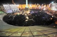 """عشرات الجرحى في فضّ تظاهرات بـ""""كييف"""""""