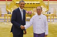 """شكوى ضد رئيس بورما بتهمة """"إبادة"""" أقلية روهينغيا"""