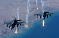 """التحالف يستهدف """"الدولة"""" بـ15 غارة في العراق وسوريا"""