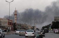 استهداف فندق ببنغازي يقيم به جنود أجانب بسيارة مفخخة