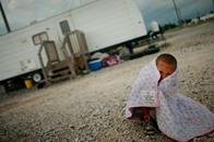 طفل أمريكي من كل 30 عاش فترة تشرد في عام 2013