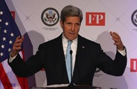كيري: احتمال تأجيل محادثات السلام السورية بجنيف ليوم أو يومين