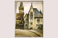 لوحة رسمها هتلر للبيع في مزاد بألمانيا