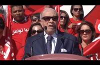 السبسي يطلق حملته الانتخابية من مرقد بورقيبة (فيديو)