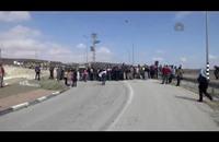 الأمن الإسرائيلي يفرّق مظاهرة بالضفة الغربية (فيديو)