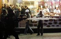 تفريق أول تظاهرة أمام القصر الرئاسي في تركيا