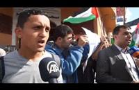 تظاهرة في غزة نصرة للمسجد الأقصى