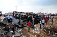 مقتل 19 شخصا في حادث مروري بمصر