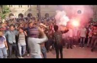 مسيرة لـطلاب ضد الانقلاب داخل جامعة القاهرة (فيديو)