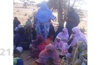 موريتانيات يسرن 300 كم احتجاجا على أوضاع قريتهن (فيديو)