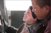 فيديو مؤثر جدا لطفلة سورية تخرج من تحت الأنقاض بدوما (شاهد)