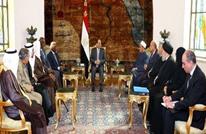 """السيسي يدعو لتصويب الخطاب الديني في لقاء """"حكماء المسلمين"""""""