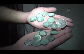 العثور على عملات معدنية قديمة تعود للعهد العثماني في غزة