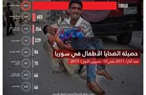 منظمة حقوقية: أكثر من 19 ألف طفل قتلوا في سوريا
