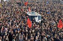 50 ألف تركي يشيعون جثمان محام كردي قتل بالرصاص غدرا