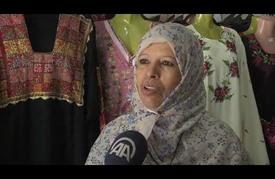 """فن """"التطريز"""" الفلسطيني القديم يُزين الثياب العصرية للشباب"""