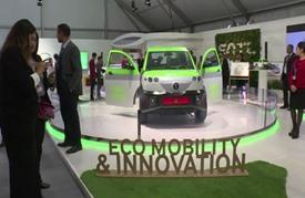 السيارات الكهربائية نجمة مؤتمر مراكش المناخي الدولي