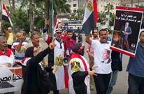"""مظاهرات مؤيدي السيسي: """"خربها"""" وتحيا رئيسنا (فيديو)"""