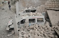 طائرات نظام الأسد تدمر مركزا طبيا للمعارضة بإدلب (صور)