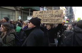 تواصل الاحتجاجات المناهضة لترامب في الولايات المتحدة