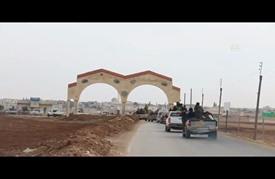 """""""السوري الحر"""" يقترب من """"الباب"""" معقل """"الدولة"""" في ريف حلب الشرقي"""