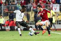 مصر تفوز على غانا بهدفين في تصفيات المونديال