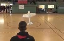 اختراع جديد.. طائرة ترقص على أنغام الموسيقى (فيديو)