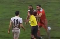 شجار بين لاعبي إيران وسوريا في تصفيات كأس العالم (شاهد)
