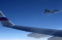 مقاتلات سويسرية تقترب من طائرة روسية تقل وفدا (فيديو)