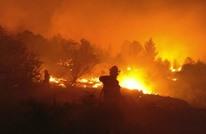 نتنياهو يطلب النجدة لإخماد الحرائق ويلمح لعمل متعمد (شاهد)