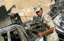 """ارتفاع عدد قتلى الجيش المصري بسيناء إلى 12.. و""""الدولة"""" يتبنى"""