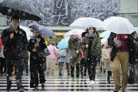 طوكيو تشهد هطول ثلوج لأول مرة منذ 1875