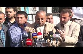 وقفة عمالية في غزة احتجاجا على تفاقم أزمة البطالة
