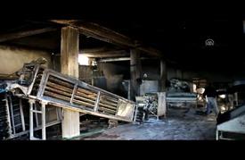 احتراق مخبز جرّاء تماس كهربائي بريف إدلب السورية